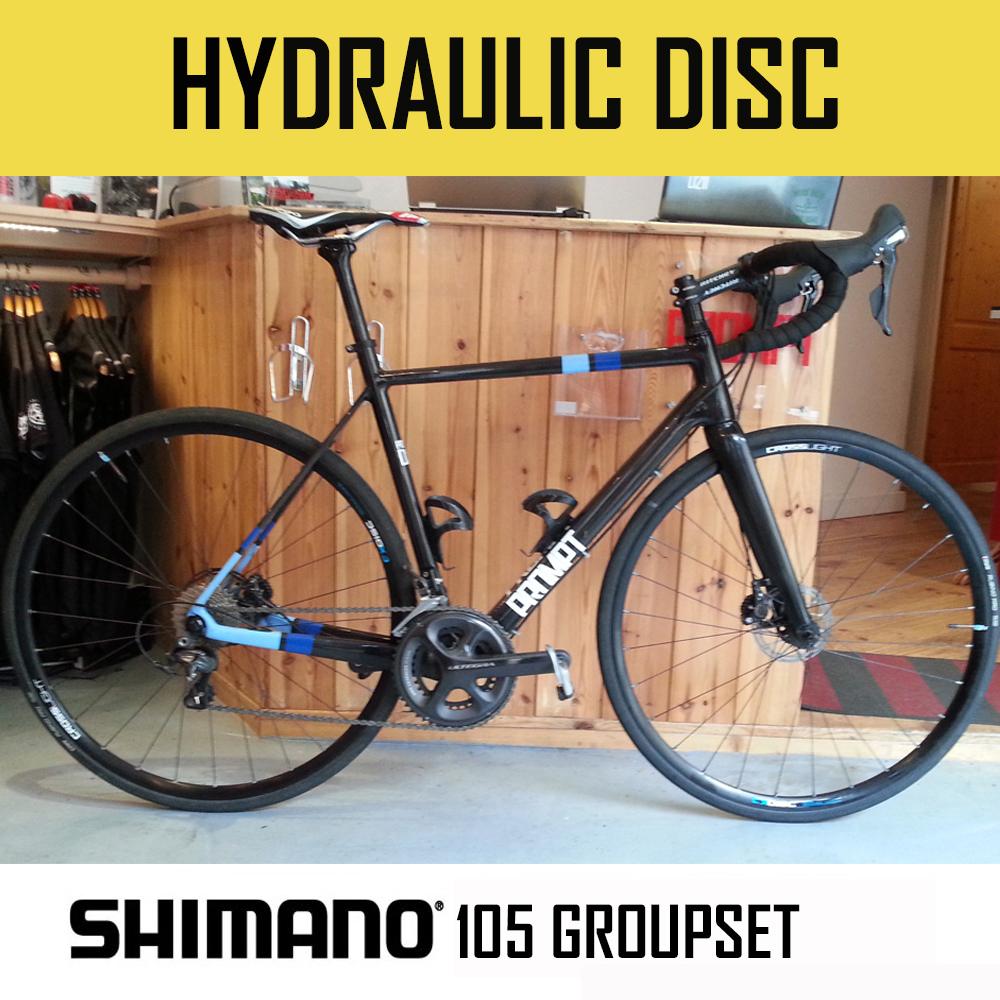 Prompt D211 DISC - Carbon bike with 105 22 speed Compact