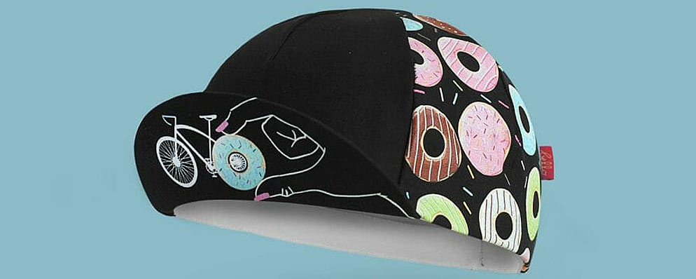 Donut Mess with my Ride-time Cycling Cap