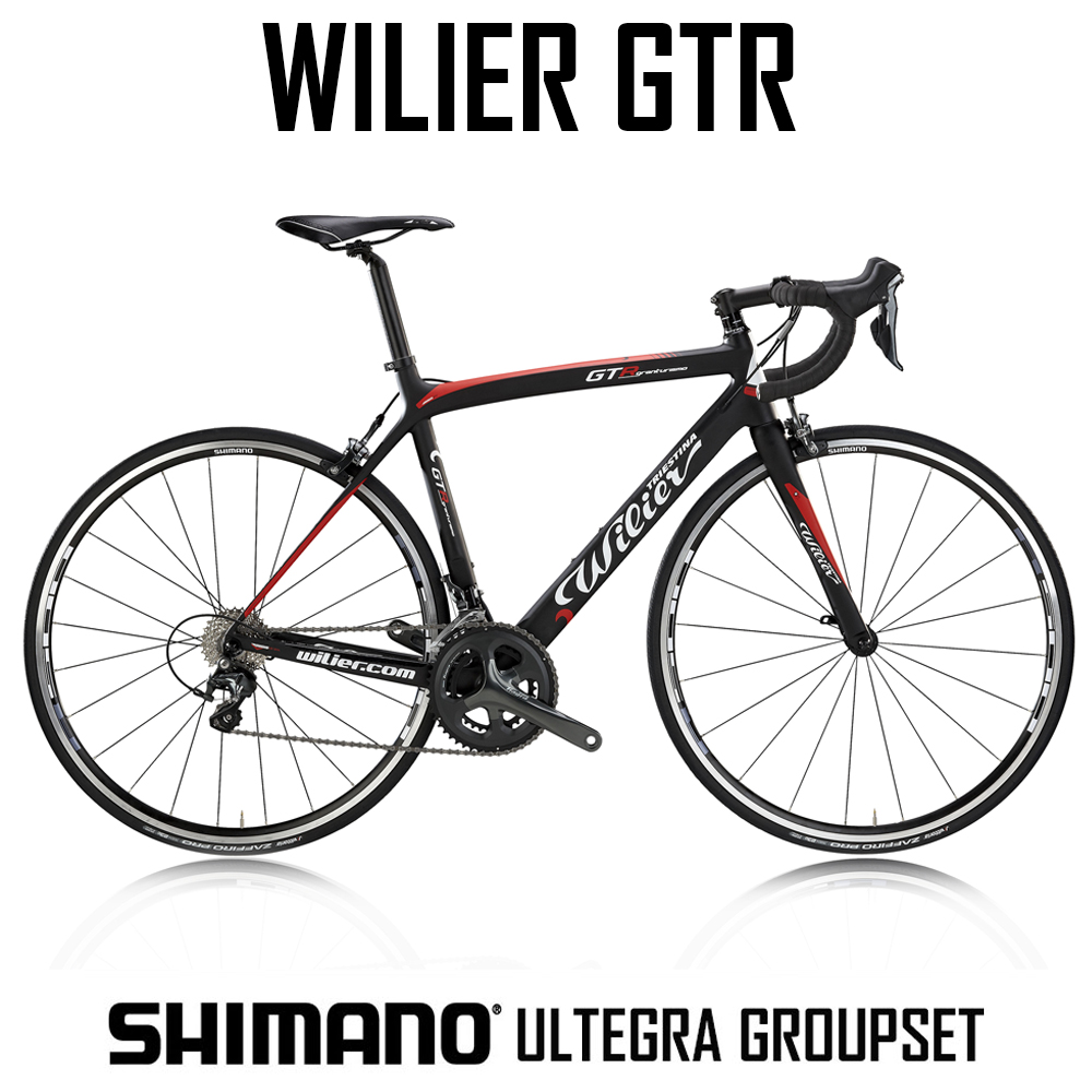 Wilier GTR - CARBON BIKE WITH ULTEGRA 22 SPEED COMPACT