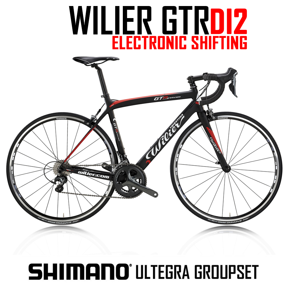Wilier GTR - Carbon bike with Ultegra 22 speed Compact DI2