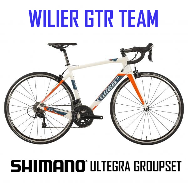 Wilier GTR Team - Carbon bike with Ultegra 22 speed Compact