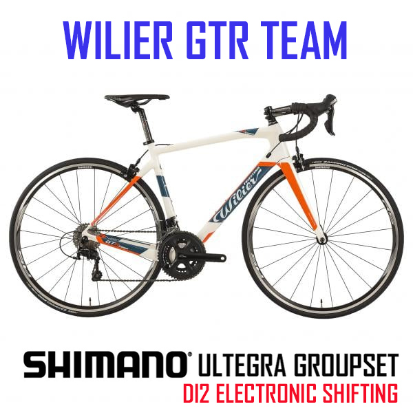 Wilier GTR Team - Carbon bike with Ultegra 22 speed Compact DI2