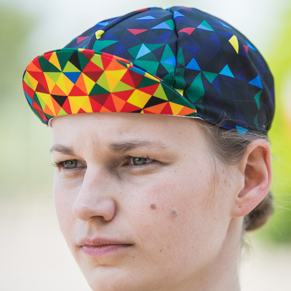 Kaleidoscope Cycling Cap
