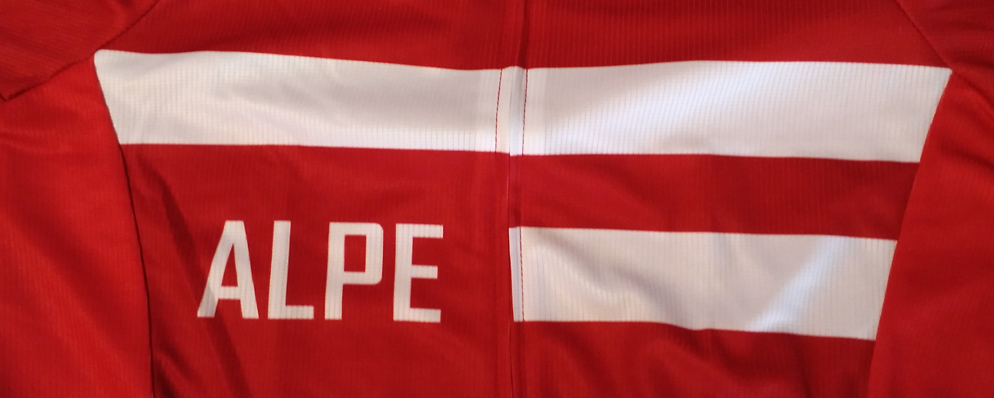 Alpe d'Huez cycling jersey - Danish