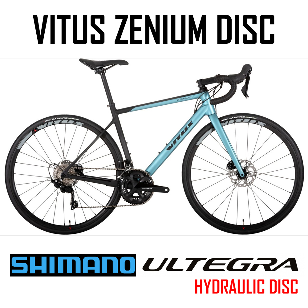 Vitus Zenium Disc Carbon bike with Ultegra 22 speed Compact